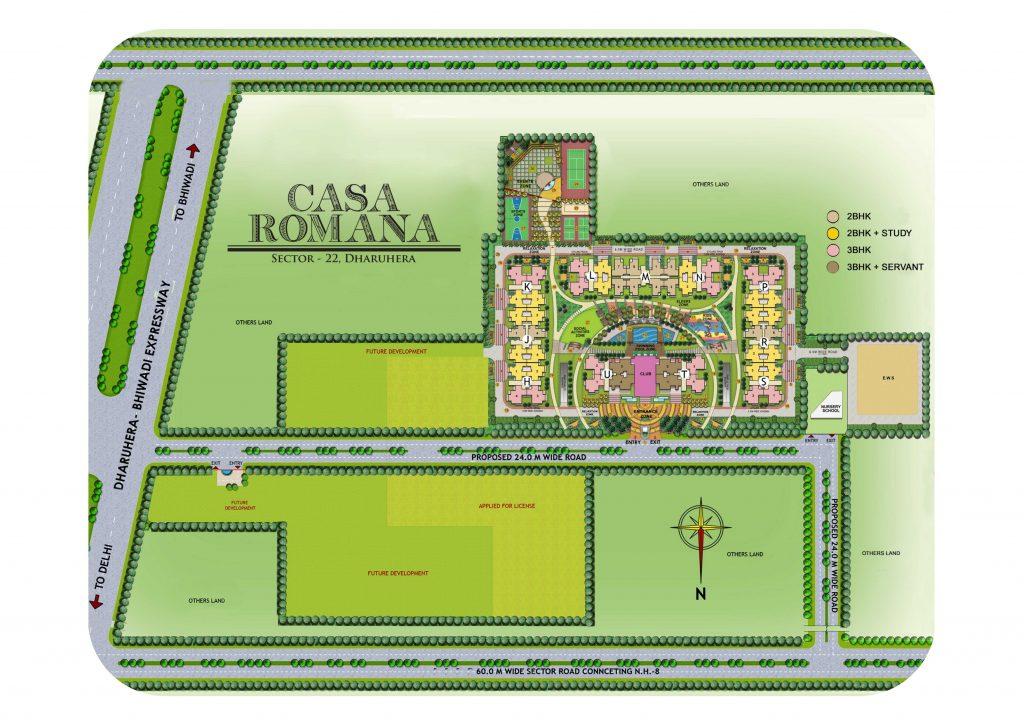 Casa Romana Layout